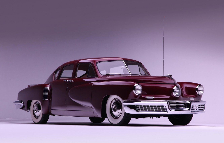 Photo wallpaper machine, car, retro cars, Tucker Sedan 1948