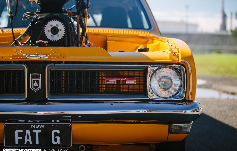 Photo wallpaper Race, GTS, Holden, Engine, Vehicle