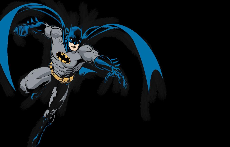 Photo wallpaper Batman, Costume, Belt, Hero, Cloak, Superhero, Hero, Batman, Bruce Wayne, DC Comics, The Dark Knight, …