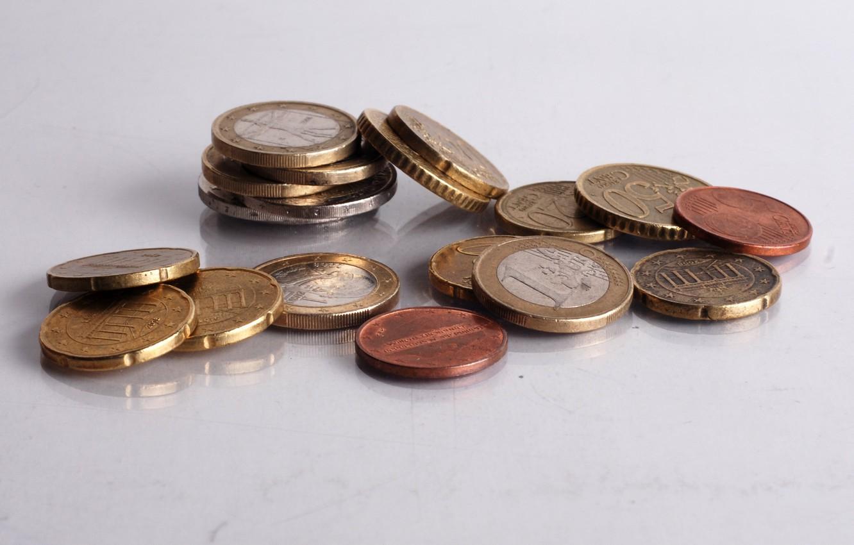 Photo wallpaper background, money, coins