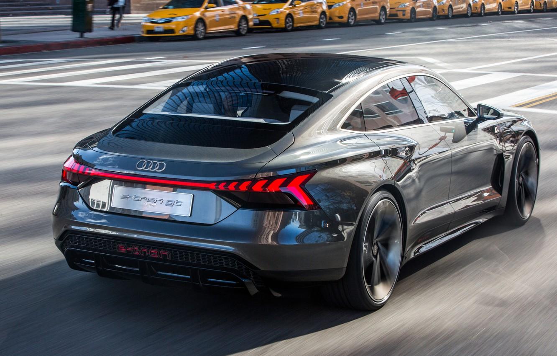 Photo wallpaper Concept, Audi, 2018, e-tron GT Concept, E-Tron GT