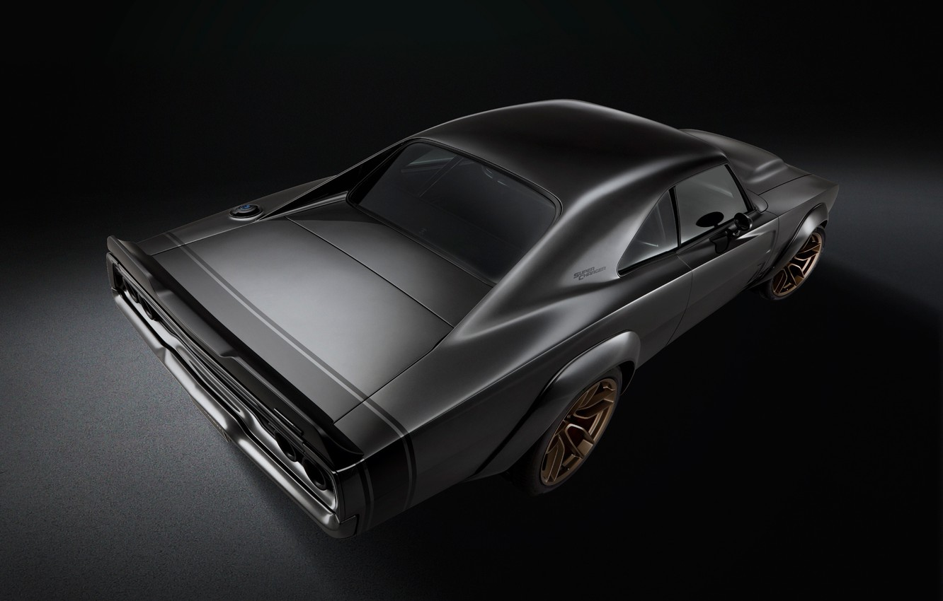 Photo wallpaper Concept, Dodge, Charger, 1968, Super Charger, SEMA 2018