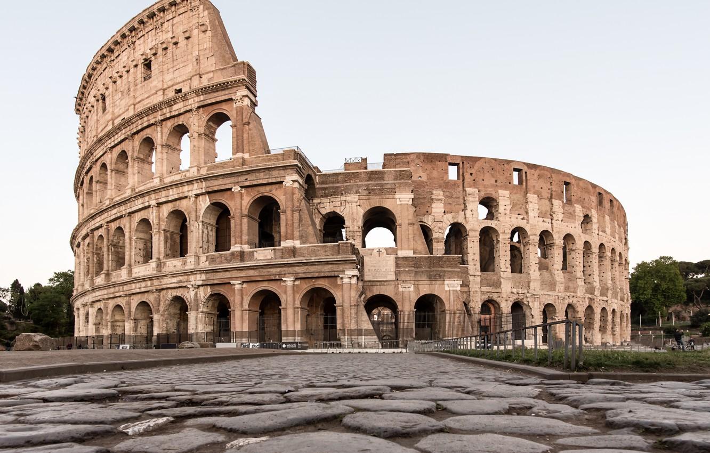 Photo wallpaper Rome, ruins, coliseum