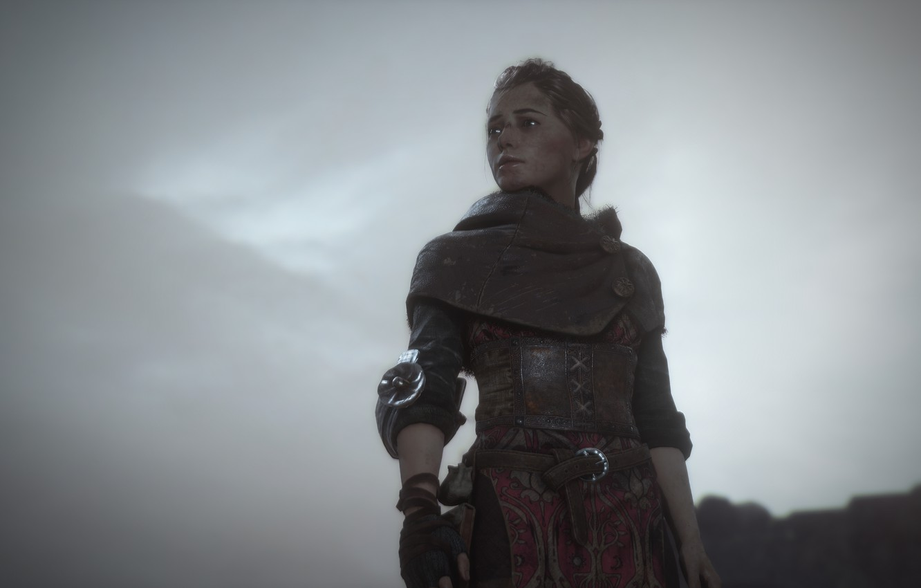 Wallpaper The Sky Girl Armor A Plague Tale Innocence Images For