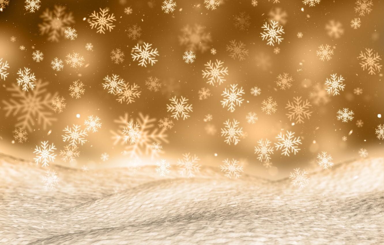 Photo wallpaper winter, snow, snowflakes, background, Christmas, winter, background, snow, snowflakes