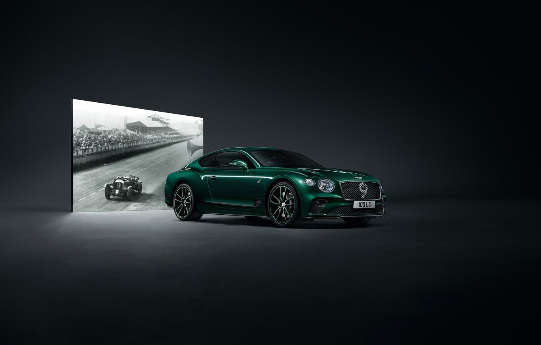 Photo wallpaper machine, Bentley, Continental GT, Mulliner, Number 9 Edition