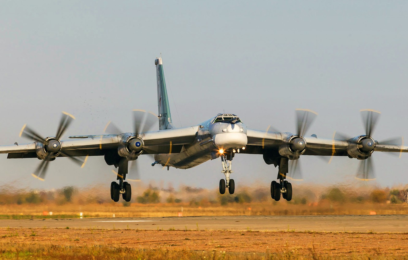 Wallpaper The Plane Bear Ussr Russia Aviation Bbc Bomber