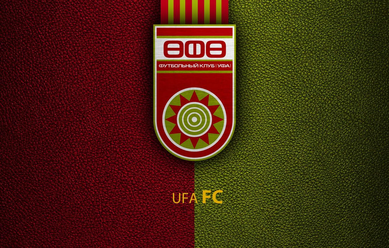 Photo wallpaper Logo, Football, Soccer, Emblem, Russian Club, FC Ufa