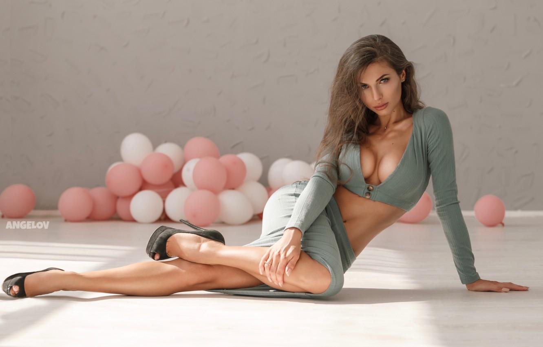 Photo wallpaper Girl, legs, Daria Shy, Eugene Angels