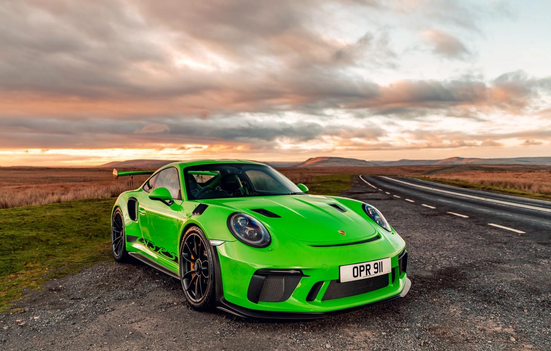 Photo wallpaper 911, Porsche, 2018, GT3 RS