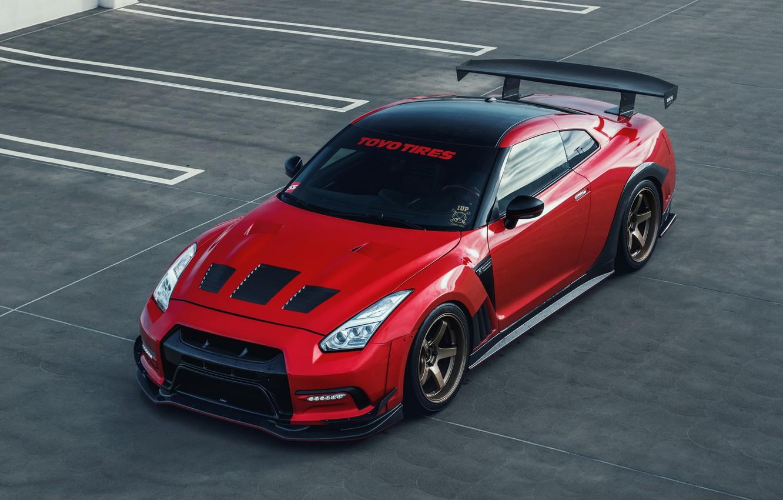 Photo wallpaper Nissan, GT-R, Nissan GT-R