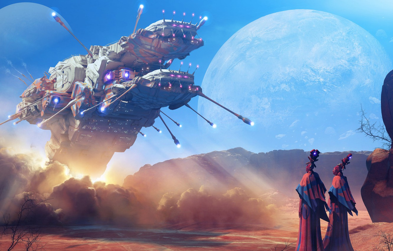Photo wallpaper fiction, Concept Art, Col Price, homecoming