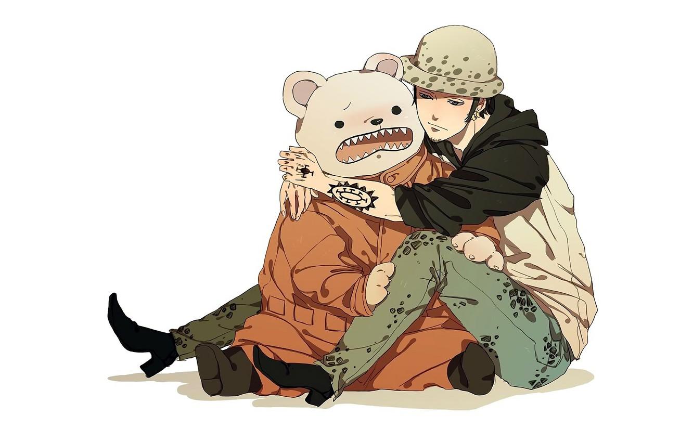 Photo wallpaper bear, guy, One Piece