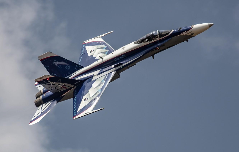 Photo wallpaper CF-18 Hornet, McDonnell Douglas, Canadian air force