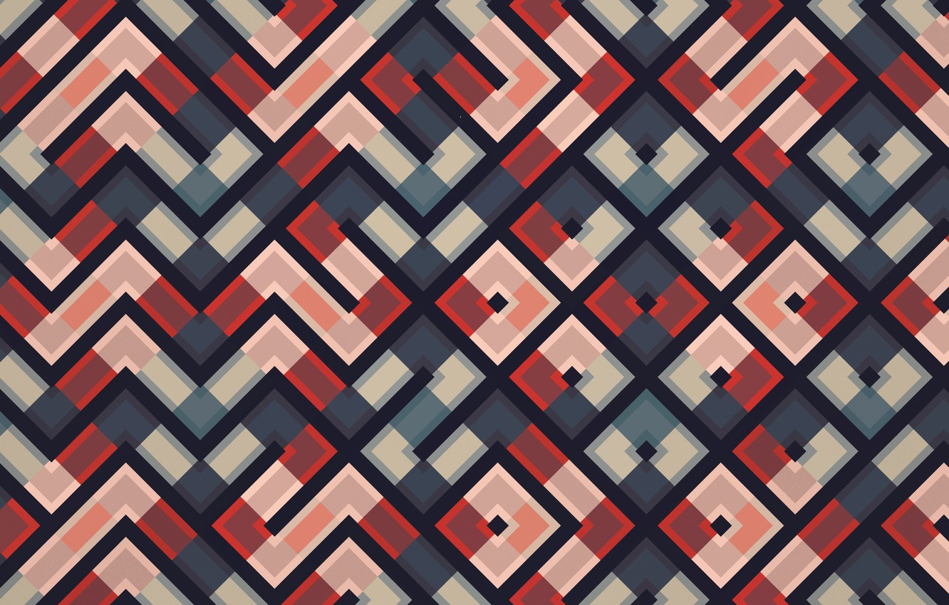 Photo wallpaper abstraction, Background, square, triangle