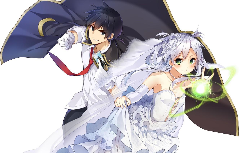 Wallpaper Magic Anime Map Art Guy The Bride Characters
