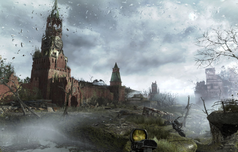 Photo wallpaper Apocalypse, Moscow, metro, metro last light