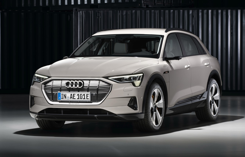 Photo wallpaper Audi, crossover, E-Tron, 2019, electrocreaser