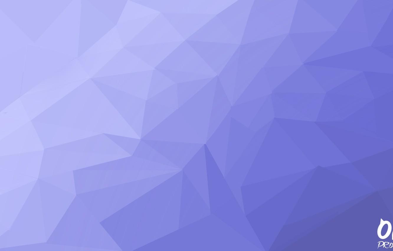 Photo wallpaper abstraction, vector, Blue, Poly, Синий Градиент, OKA PROJECT, Background Design