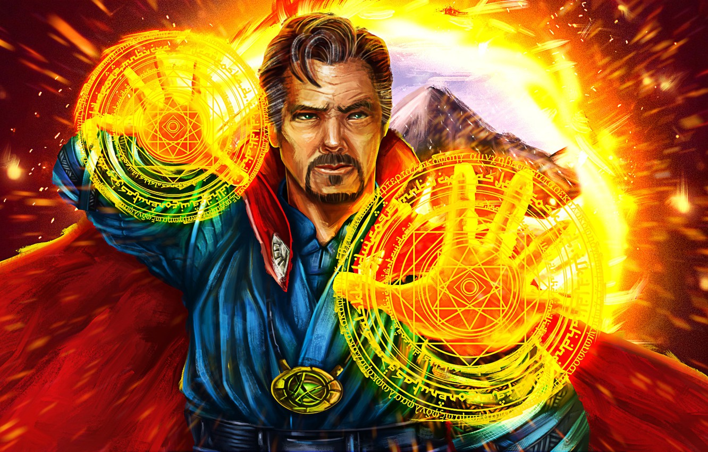 Wallpaper Circles Weapons Magic Mag Doctor Strange