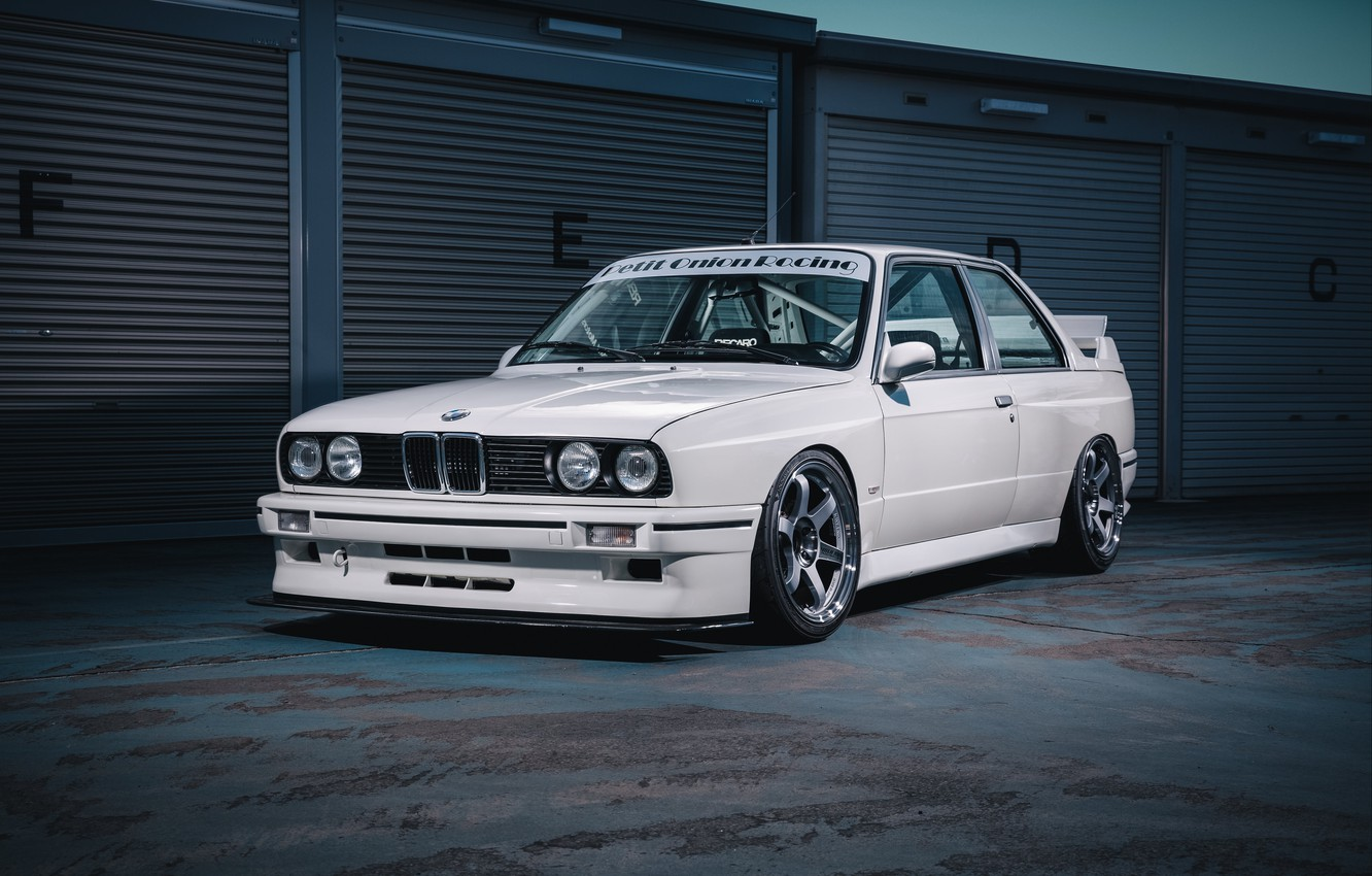 Photo wallpaper BMW, E30, 3-Series, m3