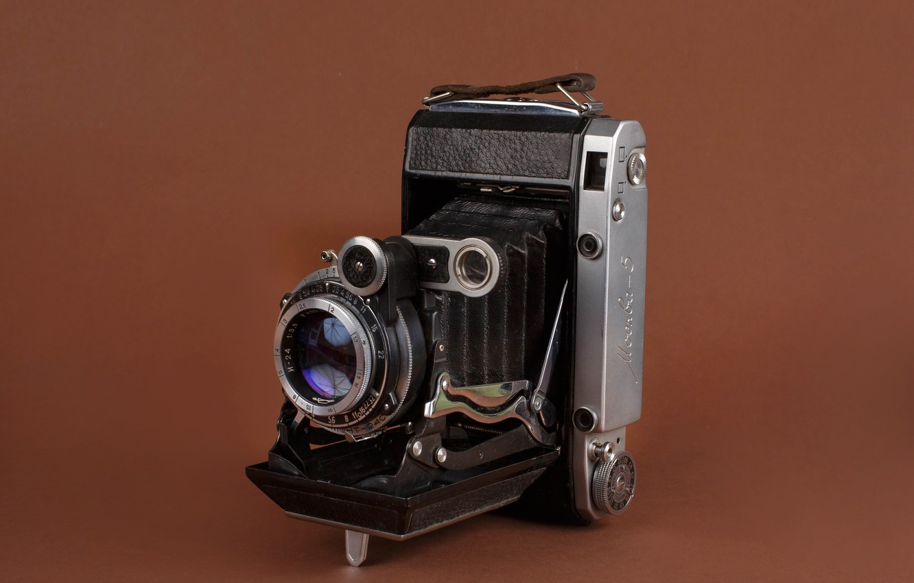 Photo wallpaper photo, USSR, photographer Alexander butchers, old camera, Moscow-5
