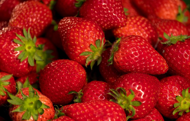 Photo wallpaper berries, strawberry, red, fresh, wood, ripe, sweet, strawberry, berries