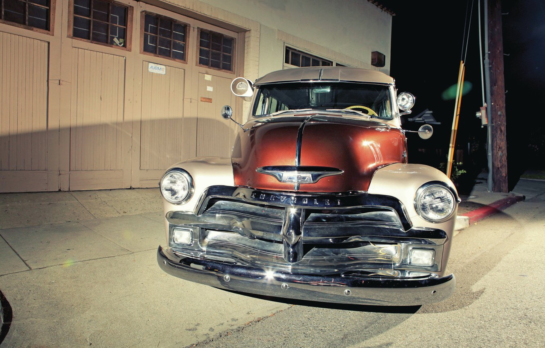 Photo wallpaper Chevrolet, Old, Truck, Classic Car