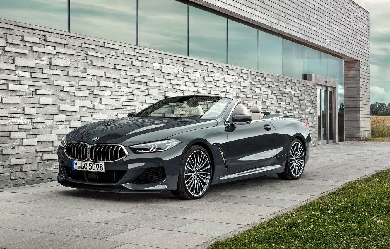 Photo wallpaper BMW, 2018, Cabrio, xDrive, G14, M850i, BMW M850i xDrive Cabrio 2018, BMW M850i xDrive Cabrio