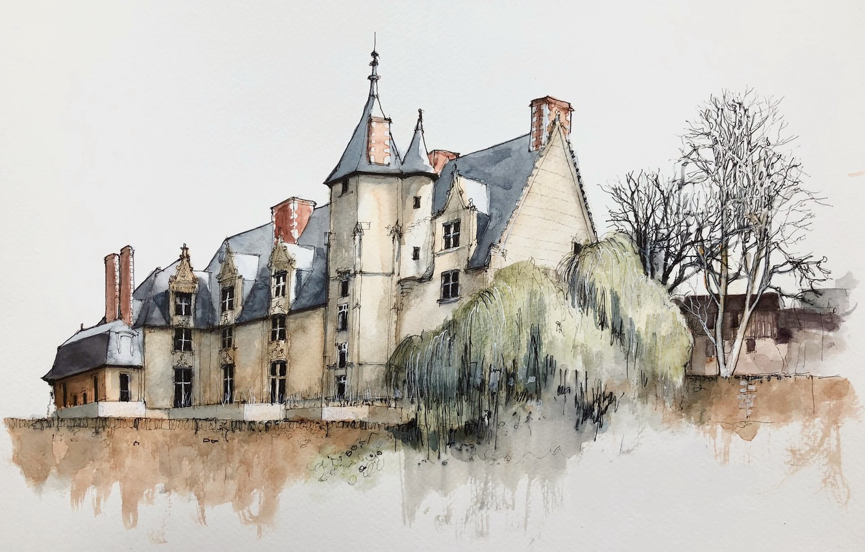 Photo wallpaper France, Upper Normandy, Evreux