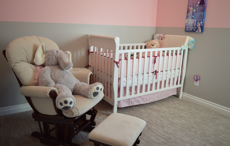 Photo wallpaper room, toys, interior, chair, children's, cot