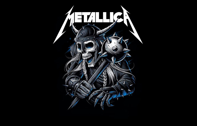 Wallpaper Minimalism Music Skull Logo Art Rock