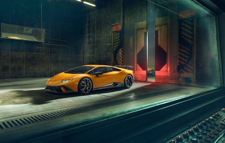 Photo wallpaper Lamborghini, 2018, Performante, Novitec, Huracan