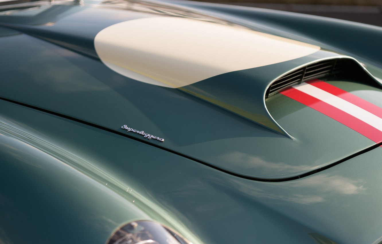 Photo wallpaper Aston Martin, The hood, Classic, 2018, Classic car, 1958, DB4, Sports car, Aston Martin DB4 …