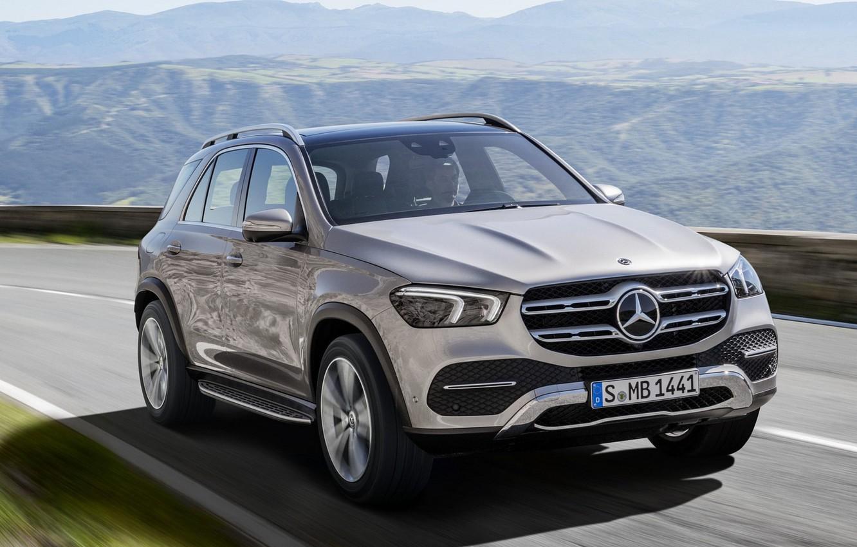 Photo wallpaper Mercedes, Benz, GLE, 2019, 2019 Mercedes‑Benz GLE, Mercedes‑Benz