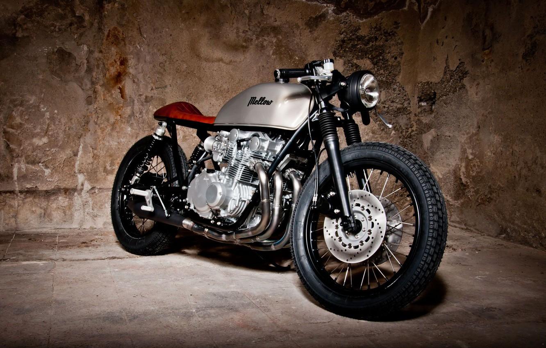 Photo wallpaper Custom, Cafe Racer, Motocycle