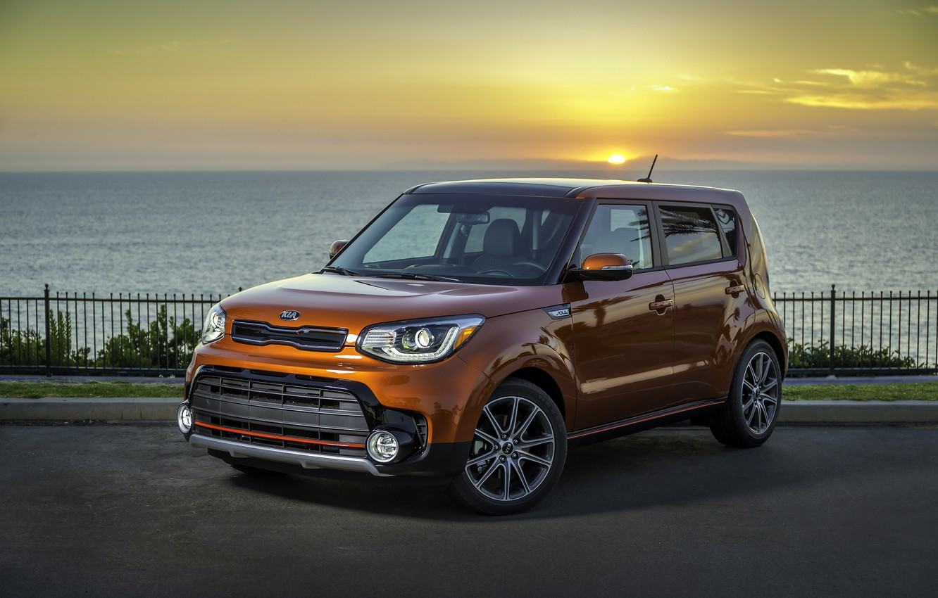 Photo wallpaper Kia, kia, soul, soul
