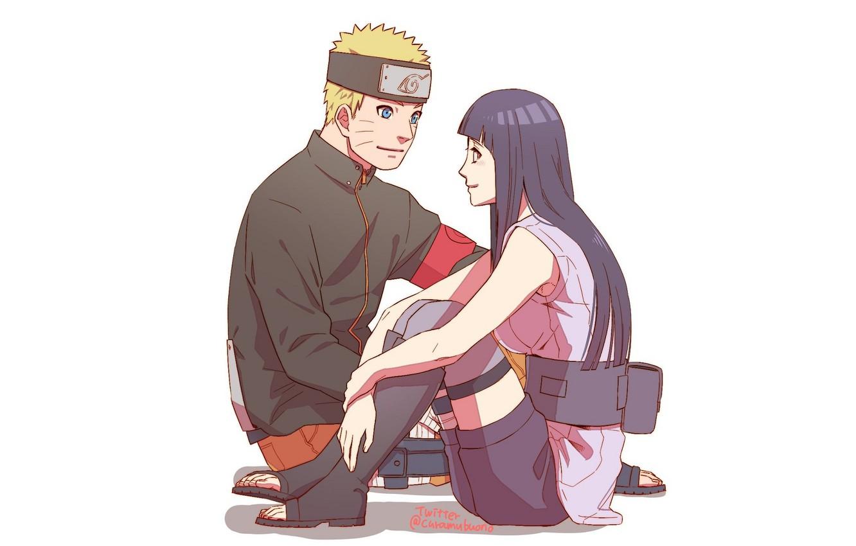 Photo wallpaper Naruto, Naruto, Naruto Uzumaki, Hinata Hugo