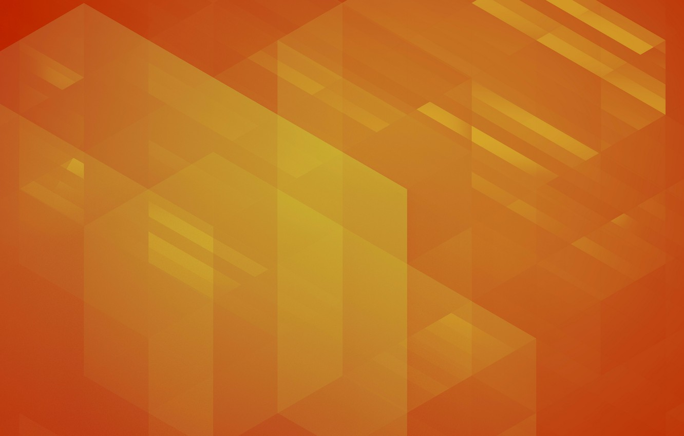 Photo wallpaper line, orange, abstraction, background, corners, figure