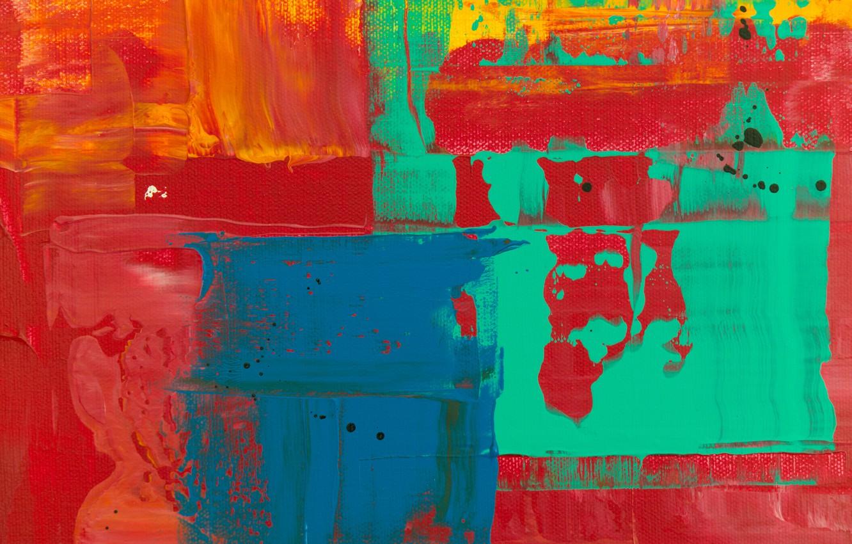 Photo wallpaper line, paint, divorce, canvas