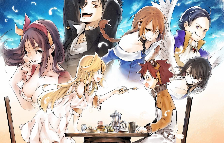 Photo wallpaper anime, art, characters