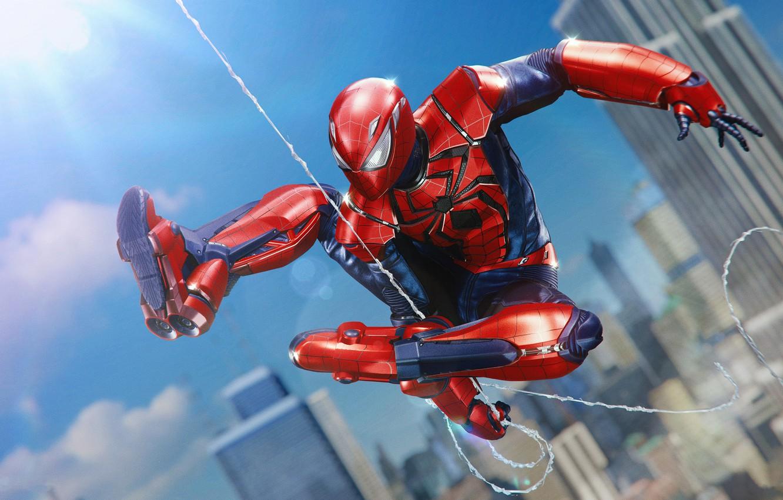 Photo wallpaper costume, Marvel, Spider-man, Game, Comics, Spider-Man, Peter Parker