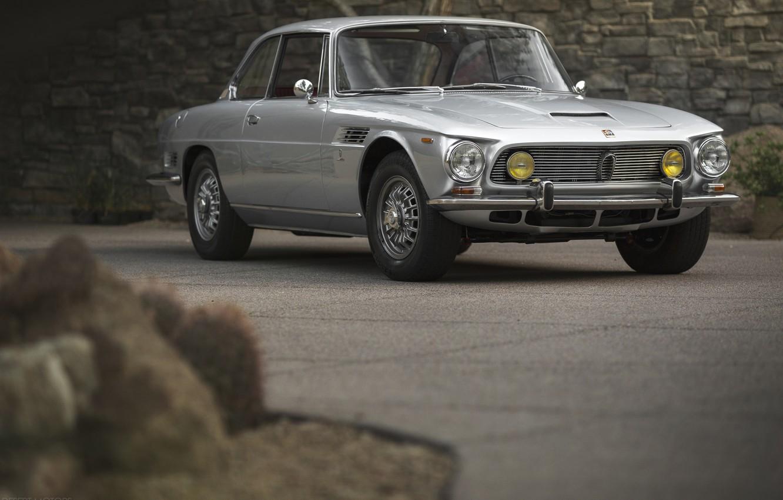 Photo wallpaper Classic, Coupe, Silver, Iso Rivolta IR 300