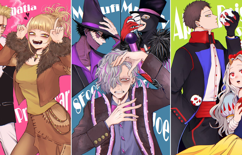 Photo wallpaper Disney, Snow White, Cosplay, Character, My Hero Academia, Boku No Hero Academy, Dabi, Toga Himiko, …