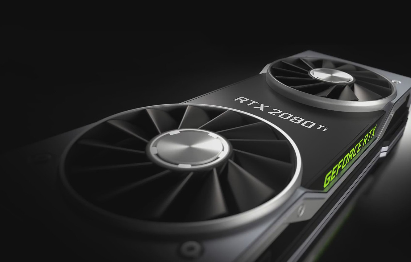 Photo wallpaper Nvidia, RTX, Videocard