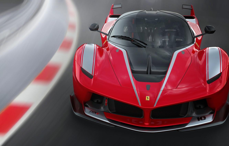 Photo wallpaper road, Ferrari, supercar, FXX K