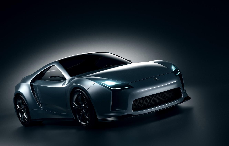 Photo wallpaper design, transport, shadow, car, Toyota Supra Concept