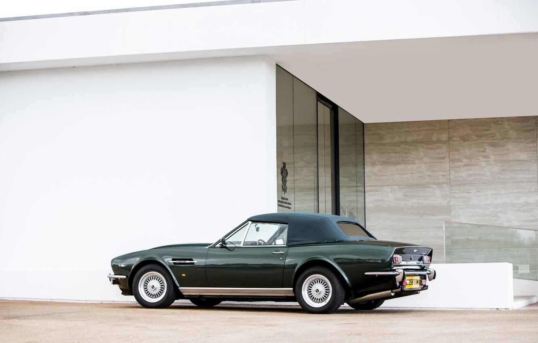 Photo wallpaper Convertible, Classic car, Aston Martin V8 Vantage Volante