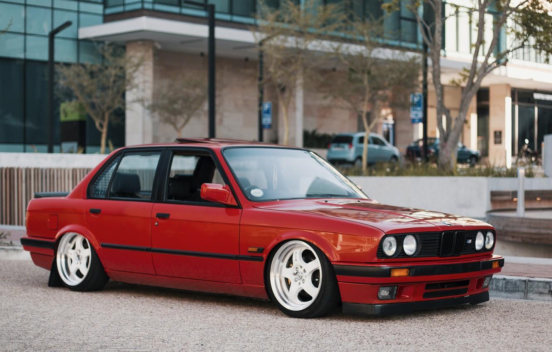Photo wallpaper BMW, E30, 3-Series, AGO