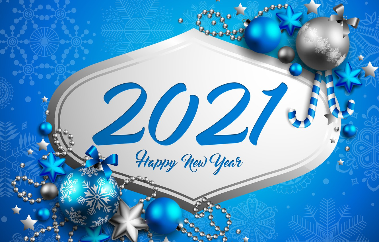 Photo wallpaper background, holiday, balls, New year, beads, New Year, decor, 2021